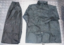 Abrigos y chaquetas de hombre negros de nailon