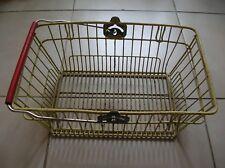 Ancien panier de supérette supermarché métal déco rétro cuisine ancien magasin