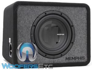"MEMPHIS PRXE10S2 10"" 500W 2-OHM ENCLOSED SUBWOOFER BASS SPEAKER MDF PORTED BOX"