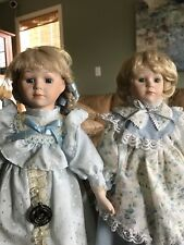 2 Vintage Highly Collectible Porcelain Dolls from 1986-1989