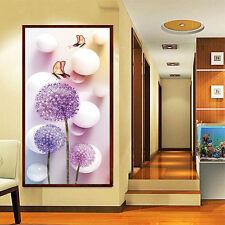 DIY 5D Dandelion Crystal Diamond Sticker Cross Stitch Painting Home Wall Decor