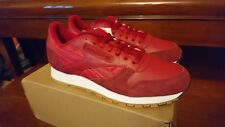 Reebok Mens CL Classic Leather SPP Flash Red AR3776 UK8.5 US9.5 Kendrick Lamar