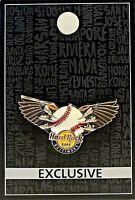 Hard Rock Cafe Baltimore Pin Core 3D Baseball Wings 2017 LE New # 95462