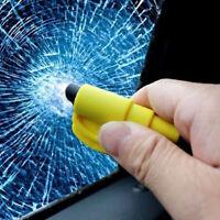 New Portable Escape Rescue Tool Key Chain Window Glass Breaker/ Seatbelt Cutter