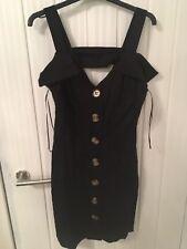 River Island Black Dress Size 8 Bnwt