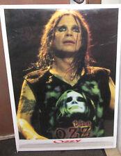 Ozzy Osbourne Black Sabbath Rare New Poster 2000'S Vintage