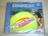 VIRTUA TENNIS SEGA DREAMCAST PAL *BRAND NEW*