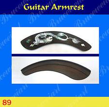 Free Shipping, Guitar Part - Armrest  W/Mop Art Inlay (G-89-5)