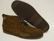 NEW Mens Sz 13 SEBAGO Beacon B72561 DOCKSIDES Dark Brown Suede Boots Shoes