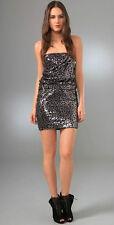 Alice + Olivia Sasha Sequin Dress  6 US
