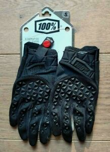100% Airmatic glove - black/charcoal - Small - BNIB