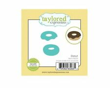 Taylored Expressions Little Bits Die(s) Set ~ DONUT Dessert, Baked goods  ~TE373