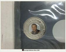 2004 Adelaide Advertiser AFL Captains Medallion No3 Anthony Koutoufides(Carlton)