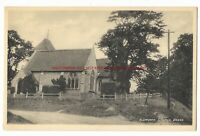 Berkshire Aldworth Church nr Goring Vintage Postcard 8.10