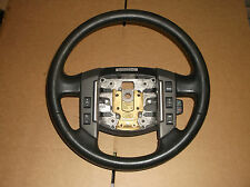 Land Rover LR2 Piano Wood Black Steering Wheel W. Cruise & Radio Controls 08-12