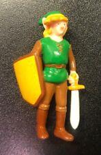Vintage Nintendo Legend of Zelda LINK Figure PVC 1989 NES Applause