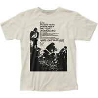 "Velvet Underground ""Come. Step Softly"" Jersey T-Shirt - S - 2X"