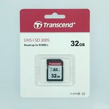 Transcend 32GB 300S UHS-I SDHC Memory Card