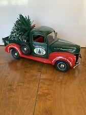 FRANKLIN MINT 1940 FORD CHRISTMAS PICKUP TRUCK W/ TREE