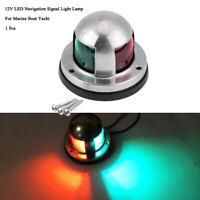1Pcs LED Navigation Signal Light Lamp Ass For Marine Boat Yacht 12V Red Green