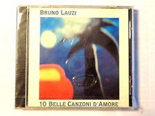 BRUNO LAUZI  -  10 BELLE CANZONI D' AMORE  -  CD 1994  NUOVO E SIGILLATO