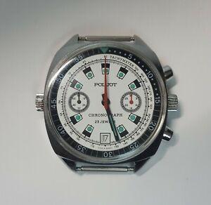 Poljot Vintage Russian Soviet watch Chronograph Sturmanskie ( servised).