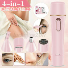 4 IN 1 Electric Women Hair Removal Epilator Body Facial Hair Removal Shaver