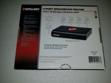*New* Intellinet 4-Port Broadband Router Model Number 524537
