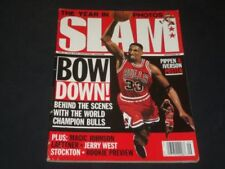 1997 SEPTEMBER SLAM MAGAZINE - SCOTTIE PIPPEN (MICHAEL JORDAN ON COVER TOO)