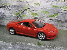 Bburago Ferrari 360 Modena 1999 1:18 Red #2