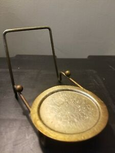 CUP and & SAUCER STAND Brass Etch Base Display Holder Easel
