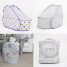 Koo-di Baby Pop Up Travel Cot Bassinet with Mattress and Mosquito Net 0-6mths
