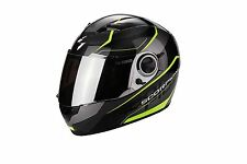 Casco moto integrale SCORPION EXO-490 AIR Vision nero giallo fluo tg.M