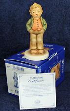 MJ Hummel 'Steadfast Soprano' #1709 Hum 848 TMK8 4-inch figurine COA Hummel Club