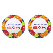 Lacrosse Sak Training Balls - Soft Less Bounce & Minimal Rebounds - 2 Pack