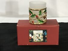 Lenox Holiday Gold Votive in Box - See Pics