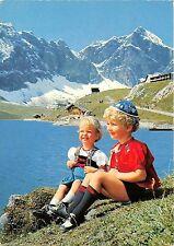BG18095 children melchsee frutt zentralschweiz switzerland