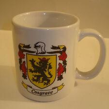 Vintage Cosgrave Coat of Arms Coffee -Tea - Mug -Cup