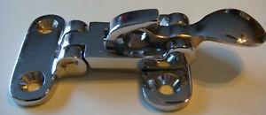 200 - Anti Rattler DOOR FASTENER Chrome BRASS NOS holder NEW Wholesale LOT