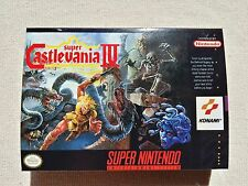SNES Super Castlevania 4, Custom Art case only, no game included