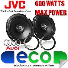 Audi A3 8P 2003 - 2012 JVC 16cm 6.5 Inch 600 Watts 2 Way Front Door Car Speakers