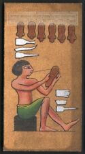 Ancient Egyptian Leather Tanner Workers 1920s Ad Trade Card