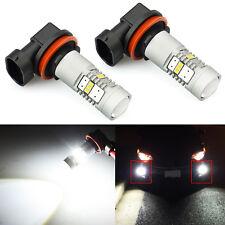 JDM ASTAR 2x 1600LM H11 High Power 3020 Xenon White LED Fog DRL Light Bulbs Lamp