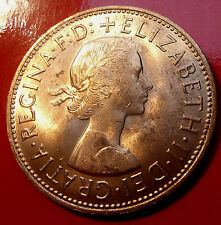 United Kingdom Penny of 1967,  Bronze Composition. A real pretty coin all around