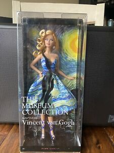 2010 Pink Label Barbie Doll Inspired By Vincent van Gogh The Museum Collection