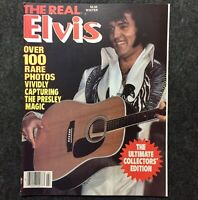 The Real Elvis Presley 1980 Magazine Nice Copy Music The King Photos Rock & Roll