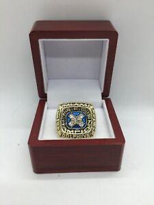 1984 Miami Dolphins Dan Marino AFC Championship Ring Set with Wooden Display Box