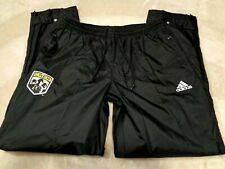 Mens - ADIDAS - COLUMBUS CREW Sweatpants Pants Soccer Football Black L Large