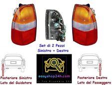 SET 2 FARO FANALE POSTERIORE SX DX PER MITSUBISHI L200 PICK UP GRUPPO FANALINO