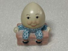 Herend Humpty Dumpty on Wall Turquoise Fishnet Figurine 5428